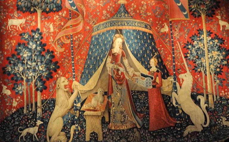 Dame-Licorne